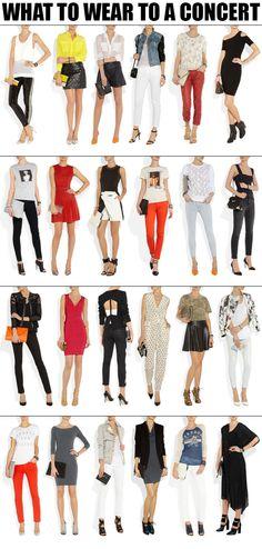 Concert outfit ideas