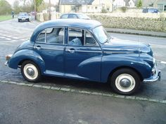 Morris Minor 1000 Just like my lovely moggie, sadly missed