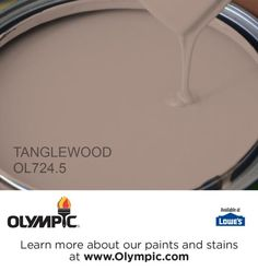 TANGLEWOOD OL724.5 is a part of the beiges collection by Olympic® Paint.