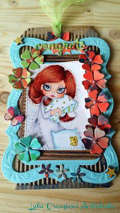 Lulu' Creazioni Artistiche: Fiori da una tag