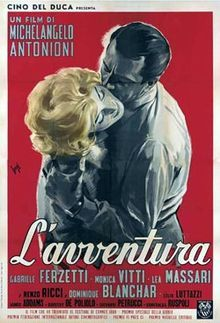 L'avventura - 1960 film that Blue thinks is a clue to what happened to Hanna Schneider, in Special Topics. It's about a woman who disappears.