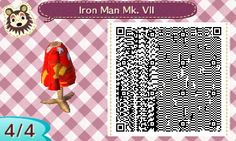 So back in March my mom got me a and Animal Crossing New Leaf which I have fallen in love with. Recently I learned how to make Pro Designs. Animal Crossing New Leaf QR Codes Motif Bikini, Pierre Rose, Motif Acnl, Ac New Leaf, Animal Crossing Qr Codes Clothes, Host Club, Tumblr, Off Shoulder Sweater, Costume
