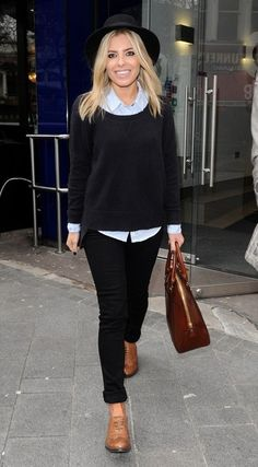 Mollie King  Love her outfit!