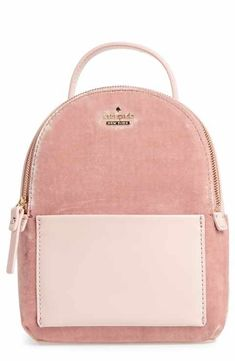 5798073722 kate spade new york watson lane velvet merry convertible backpack Leather  Slip Ons, Smooth Leather