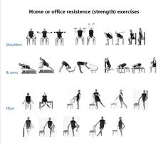 Home and Office Exercises | Yesnofitness.com