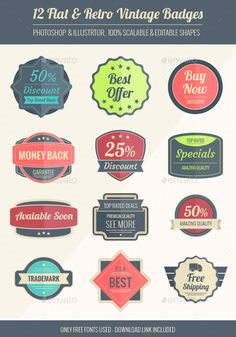 Vintage badges Template | Buy and Download: http://graphicriver.net/item/vintage-badges/9423818?WT.oss_phrase=&WT.oss_rank=16&WT.z_author=jorego&WT.ac=search_thumb&ref=ksioks