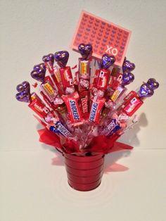 I'm Fondue You Valentine Gift Basket www.OhBowsGiftBaskets.com