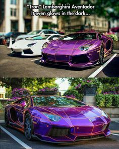 """Tron""Lamborghini Aventador Glows In the Dark! ⊛_ḪøṪ⋆`ẈђÊḙĹƶ´_⊛"