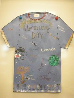 Harmony Day idea/
