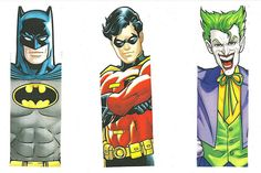 Printable bookmark images--my soon-to-be 3 yr old will LOVE a SuperHero Party!