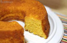 Bolo de Milharina ~ PANELATERAPIA - Blog de Culinária, Gastronomia e Receitas