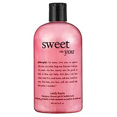 Philosophy Sweet on You™ Shampoo, Shower Gel & Bubble Bath 16 oz Beauty Tips For Face, Beauty Skin, Philosophy Products, Best Lotion, Best Lip Balm, Bubble Bath, Best Face Products, Beauty Supply, Smell Good