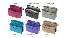 The Purse Perfectors...zip it up and transfer from one purse or bag to another.