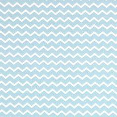 Chevron Hill 3 - Cotton - light blue