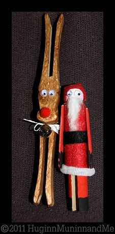Clothespin crafts are adorable, classic, - and simple enough for little crafters to help!