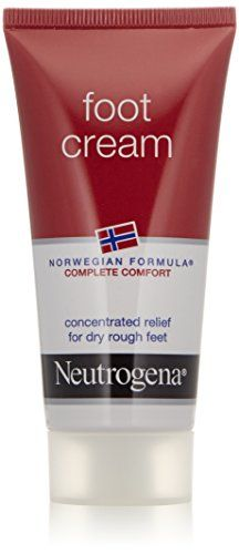 Neutrogena Norwegian Formula Foot Cream for Dry Rough Feet 2 Ounce Pack of 4 >>> To view further for this item, visit the image link.