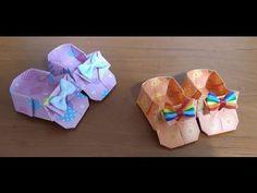 443.신발종이접기.오월의장미,origami - YouTube
