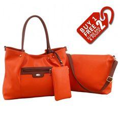 Alfio Young Fiona Orange Handbag