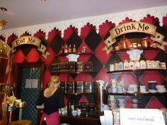 #richmondtearooms manchester. Quirky alice inspired tearooms in the village area of manchester.
