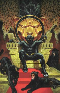 Black Panther Jusko Marvel Knights Anniversary Variant First Print 2018 Black Panther Marvel, Black Panther Storm, Black Panther Art, Black Comics, Silver Age Comics, Comic Books Art, Comic Art, Arte Black, Comic Kunst