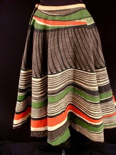 50's mexican skirt