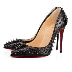 f190ce51ff3d Follies Spikes 100 Denim Silver Lame Lux - Women Shoes - Christian Louboutin.  Cheap Red Bottom HeelsRed ...