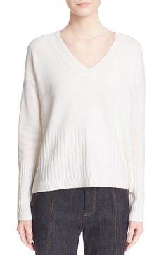 Derek Lam 10 Crosby V-Neck Cashmere Sweater available at #Nordstrom