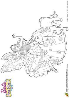 1000 id es sur le th me licorne coloriage sur pinterest - Barbie et la licorne ...