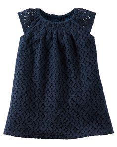 Complete with sweet cap sleeves, this floral lace dress is perfect for any special occasion.