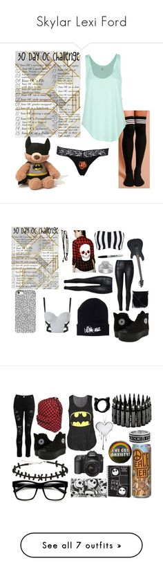 """""""Skylar Lexi Ford"""" by xofrnk-ieroxo ❤ liked on Polyvore featuring Rip Curl, Gund, Topshop, WearAll, Iron Fist, Hot Topic, Sharpie, Urban Originals, Dorothy Perkins and LUSASUL"""
