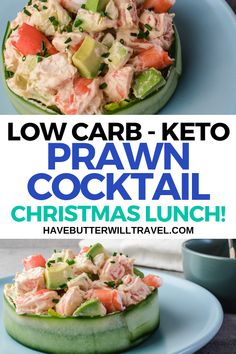 This prawn cocktail is the perfect crowd pleaser for Christmas or dinner parties. It is quick and easy to make and is the perfect keto & low carb appetiser.