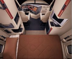 2012 Freightliner Cascadia....this is  my hubby's dream house...