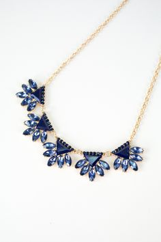 Deep Blue Dreams Necklace, Nectar Clothing