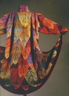 MATIN LUMINEUX: Kaffe Fasset knitting
