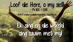 Christelike Boodskappies: Ek sing!