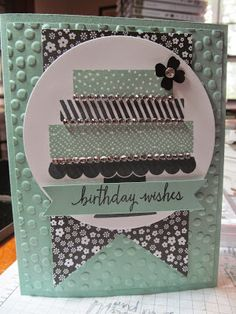 Kristin's Cards and Creations: Build a Birthday  Stampin' Up!