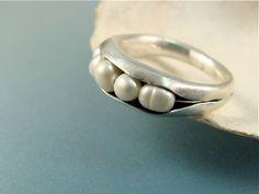 shoreline ... fresh water pearl ring