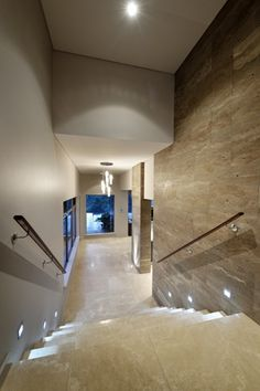 Tiled feature wall entry