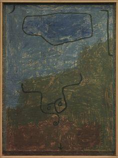Schwere Botschaft, Paul Klee, 1938 | by Kotomi_