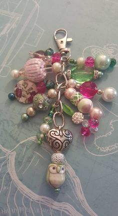 Beaded Purses, Beaded Jewelry, Handmade Jewelry, Beaded Crafts, Jewelry Crafts, Shabby Chic Jewelry, Bijoux Diy, Jewelry Making Tutorials, Beads And Wire