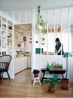 Home Interior Design — All the light and the prospect of an open kitchen.
