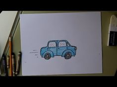 how to draw a car easy for beginners