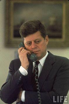 vintage everyday: President John F. Kennedy by Paul Schutzer, 1961