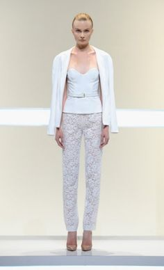 Mercedes-Benz Fashion Week : Spring 2014 MATHIEU MIRANO