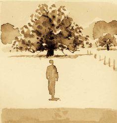 Je dessine, je marche dans mon dessin. Je marche, je dessine mon chemin. Bref, mon projet avance...
