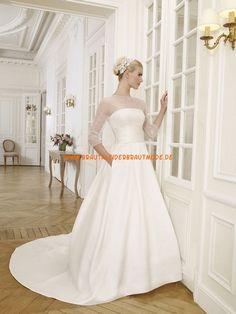 A-Linie Tolle Hochzeitskleider aus Taft