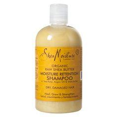 Composition Produit : Shea Moisture - Moisture Retention Shampoo