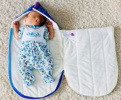 69 Ideas sewing diy baby sleeping bags for 2019 Baby Sewing Projects, Sewing For Kids, Sewing Diy, Crochet Bebe, Baby Pillows, Baby Kind, Baby Crafts, Kids And Parenting, Baby Quilts