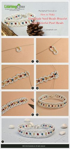 Best Seed Bead Jewelry 2017 Pandahall Tutorial on How to Make Handmade Seed Beads Bracelet with Colorful Pea