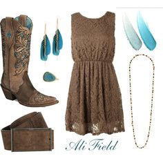 Lovin the boots for sure, but the rest is awfully cute too!